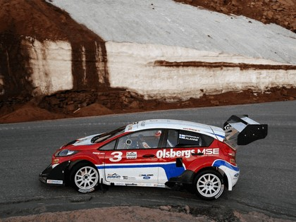 2009 Ford Fiesta Rallycross Pikes Peak 8