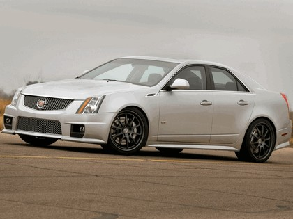 2009 Cadillac CTS-V by Hennessey 1