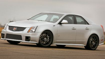 2009 Cadillac CTS-V by Hennessey 4