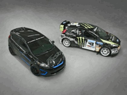 2010 Ford Fiesta Monster World Rally Team - Ken Block 6