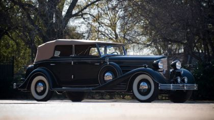 1933 Cadillac V16 Convertible Phaeton by Fleetwood 9