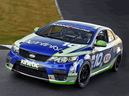 2010 Kia Forte Koup GRAND-AM race car 2