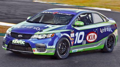 2010 Kia Forte Koup GRAND-AM race car 7