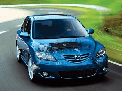 2004 Mazda 3 5-door 15