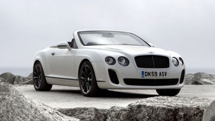2010 Bentley Continental GT Supersports convertible 4