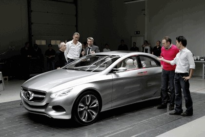 2010 Mercedes-Benz F 800 Style Research Vehicle 52