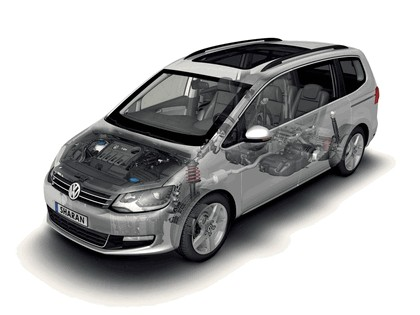 2010 Volkswagen Sharan 36