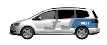 2010 Volkswagen Sharan 56