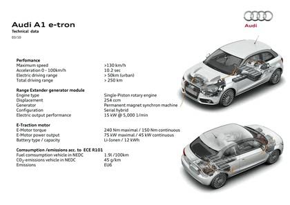2010 Audi A1 e-tron 11