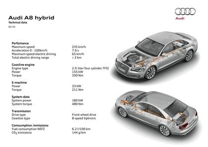 2010 Audi A8 hybrid 12
