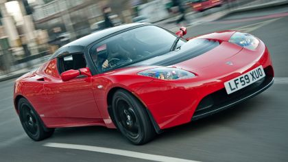 2010 Tesla Roadster Sport - UK version 4