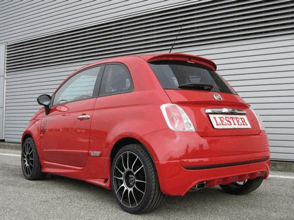 2009 Fiat 500 Rossa by Lester 2