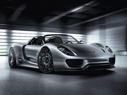 2010 Porsche 918 spyder concept 1