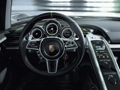 2010 Porsche 918 spyder concept 9