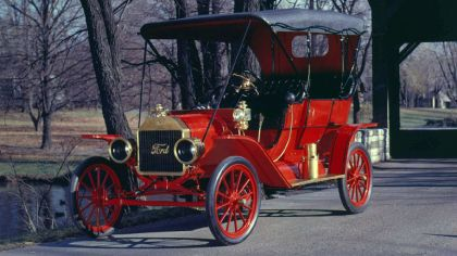 1911 Ford Model T touring 5