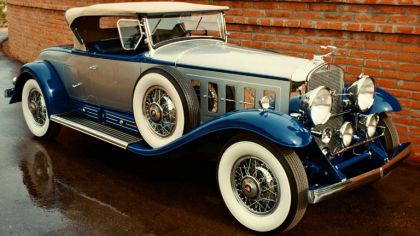 1930 Cadillac V16 452 roadster by Fleetwood 4