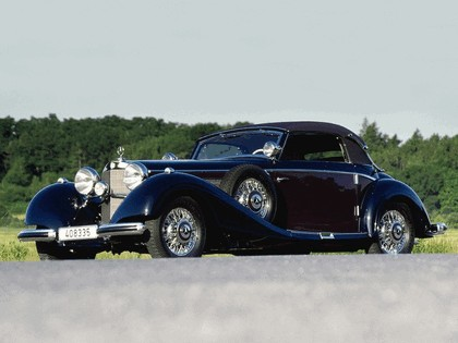 1936 Mercedes-Benz 540K Cabriolet B 2