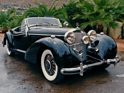 1936 Mercedes-Benz 540K Cabriolet B 4