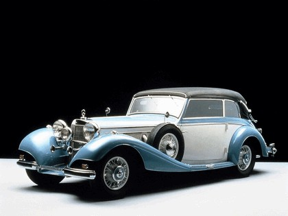 1936 Mercedes-Benz 540K Cabriolet B 7