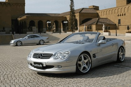 2004 Mercedes-Benz SL500 by Wald 1