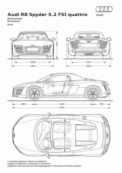 2009 Audi R8 V10 spyder 29