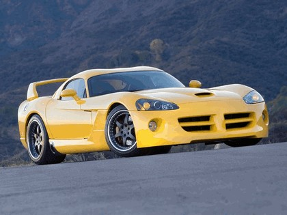 2007 Hennessey Venom 1000 Twin Turbo ( based on Dodge Viper SRT coupé ) 4
