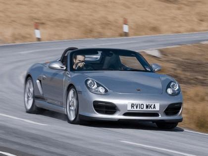 2010 Porsche Boxster spyder - UK version 1