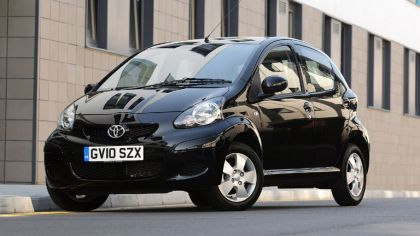 2010 Toyota Aygo Black - UK version 7