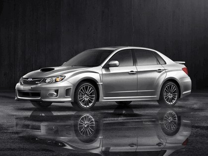 2010 Subaru Impreza WRX sedan - USA version 10