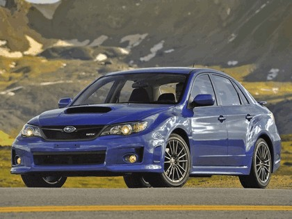 2010 Subaru Impreza WRX sedan - USA version 14