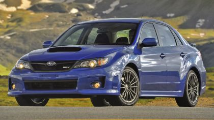 2010 Subaru Impreza WRX sedan - USA version 1