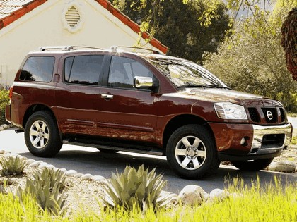 2004 Nissan Pathfinder Armada 8