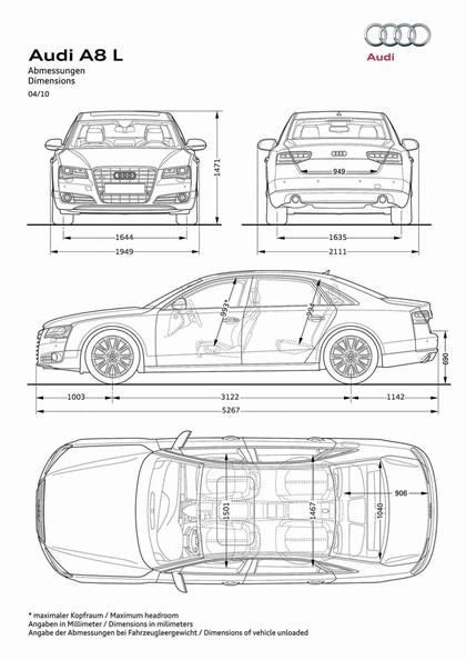 2010 Audi A8 L 10
