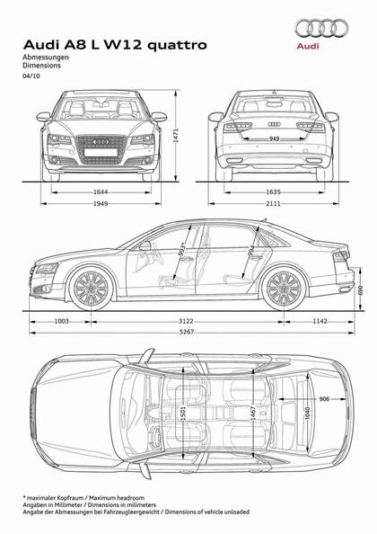 2010 Audi A8 L W12 Quattro 17