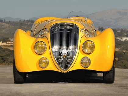 1938 Peugeot 402 Darlmat Pourtout roadster 3