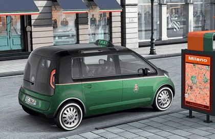 2010 Volkswagen Milano Taxi concept 4