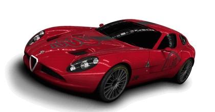 2010 Alfa Romeo TZ3 Zagato - renders 1