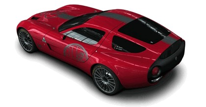 2010 Alfa Romeo TZ3 Zagato - renders 2