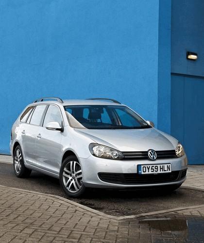 2009 Volkswagen Golf Estate - UK version 1