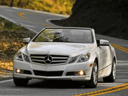 2010 Mercedes-Benz E350 cabriolet ( A207 ) - USA version 16