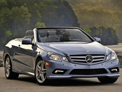 2010 Mercedes-Benz E550 ( A207 ) cabriolet 1