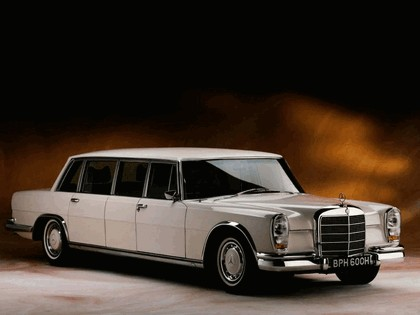 1964 Mercedes-Benz S600 Pullman ( W100 ) 8