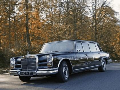 1964 Mercedes-Benz S600 Pullman ( W100 ) 12