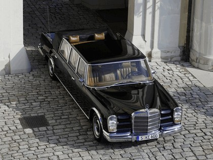 1965 Mercedes-Benz S600 Pullman Landaulet ( W100 ) 3