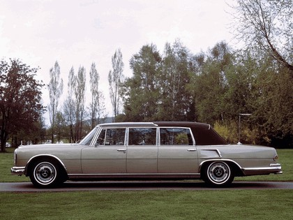 1965 Mercedes-Benz S600 Pullman Landaulet ( W100 ) 6