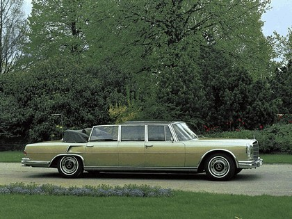 1965 Mercedes-Benz S600 Pullman Landaulet ( W100 ) 7