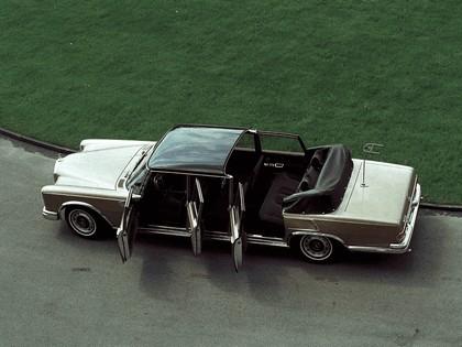 1965 Mercedes-Benz S600 Pullman Landaulet ( W100 ) 8