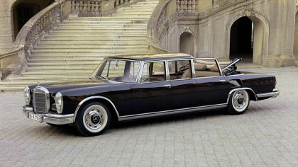 1965 Mercedes-Benz S600 Pullman Landaulet ( W100 ) 9