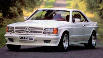 1984 Mercedes-Benz 500SEC 5.0 ( C126 ) by AMG 7