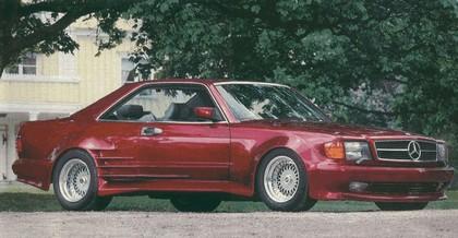 1984 Mercedes-Benz 500SEC Widebody ( C126 ) by Gemballa 2